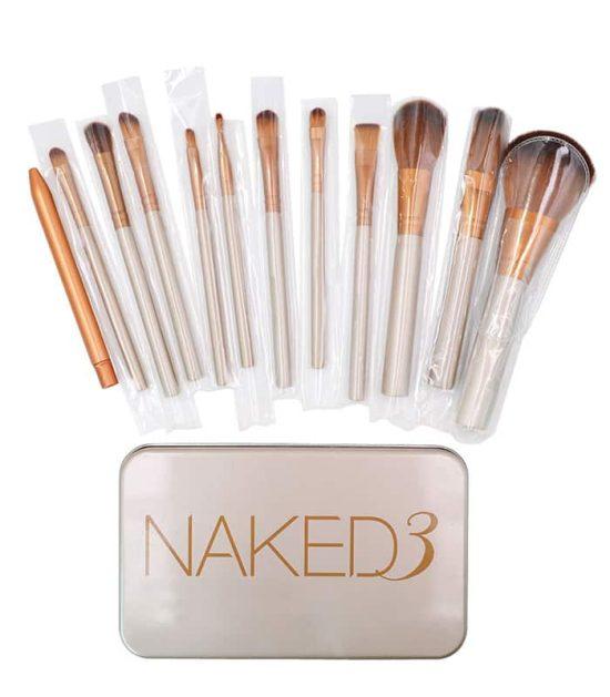 12 Pics Naked 3 Makeup Brush in Bangladesh