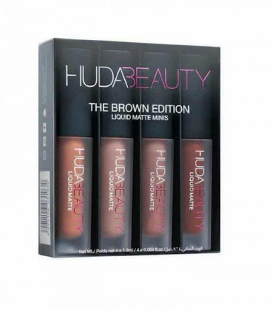 Huda Beauty Liquid Matte Minis - Brown Edition in Bangladesh