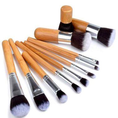 Bamboo makeup brush set price