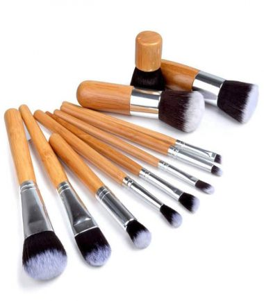 Bamboo makeup brush set price
