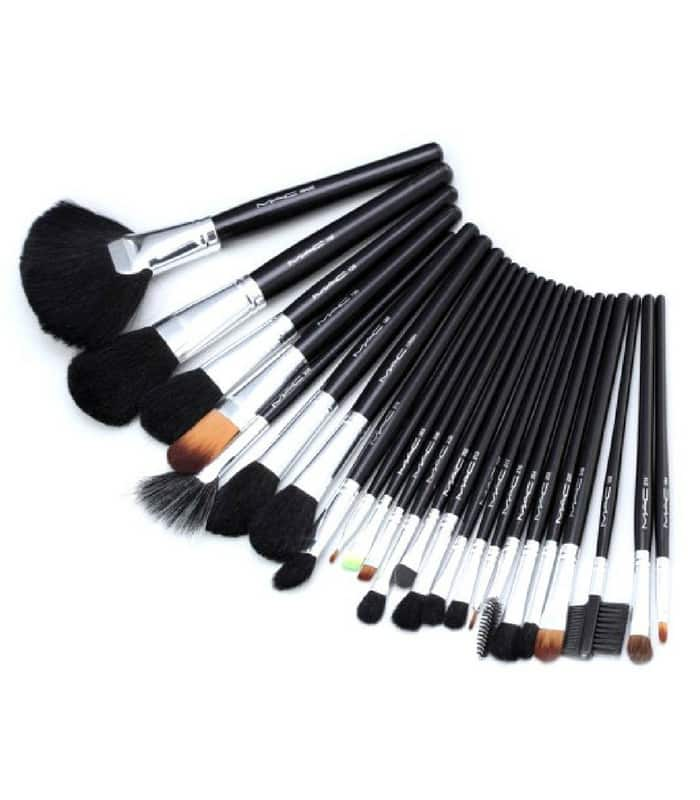 MAC Makeup Brush Set – 24 Pieces – Black in Bangladesh ...