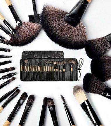 MAC Makeup Brush Set – 24 Pieces – Black in Bangladesh
