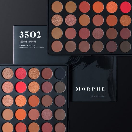 Morphe 35O2 35 Color Second Nature Palette