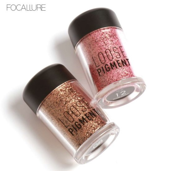 Focallure Loose Pigment Glitter Eyeshadow - Fa 37