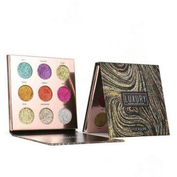 Focallure luxury electric glow glitter Palette