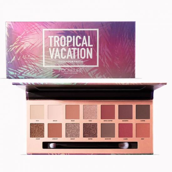 Focallure Tropical Vacation Eyeshadow palette Price In Bangladesh
