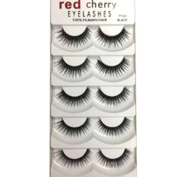 Red Cherry Eyelashes (5 Pair-Y206) in Bangladesh