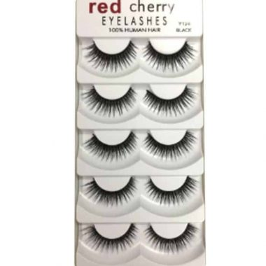 Red Cherry Eyelashes (5 Pair-Y206) in Bangladesh