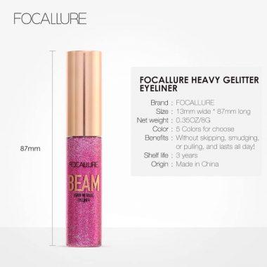 Focallure Liquid Heavy Glitter 05