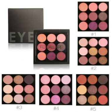 FOCALLURE 9 Colors Makeup Eyeshadow Palette in Bangladesh