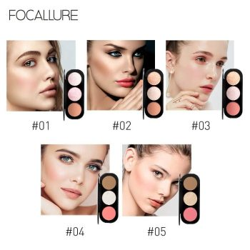 Focallure Blush & Highlighter fa26 swatch