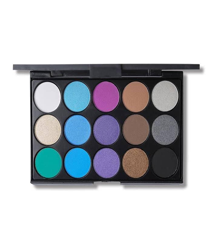 Focallure Blush & Highlighter Palette 3 Colors - Makeup