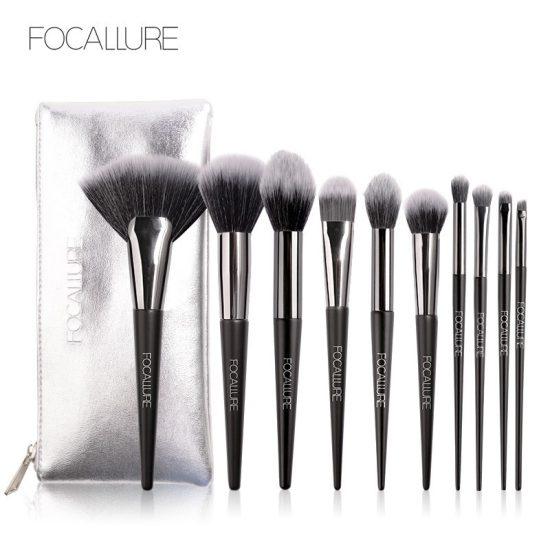 Focallure 10 pieces Eyeshadow Brush fa70