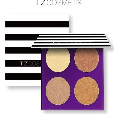 TZ Cosmetics Luminous Start Highlighter Palette