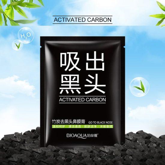 Bioaqua Activated Carbon Blackhead Removal Mask