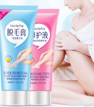 One Spring Hair Removal and Moisturizing Cream
