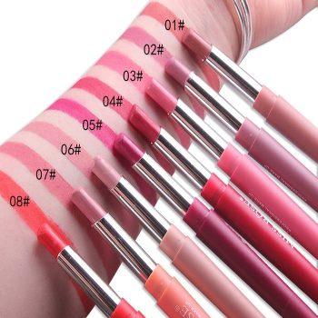 MISS ROSE 2 in 1 Velvet Matte Lipstick