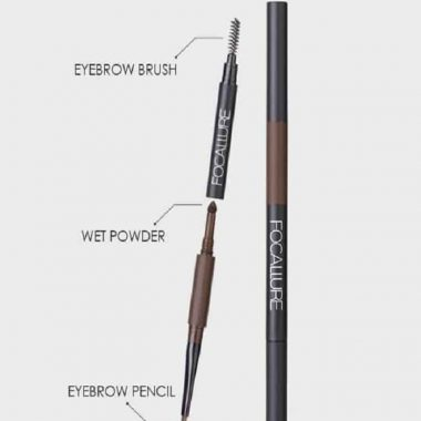 FOCALLURE 3 in 1 Auto Eyebrow Pencil FA64