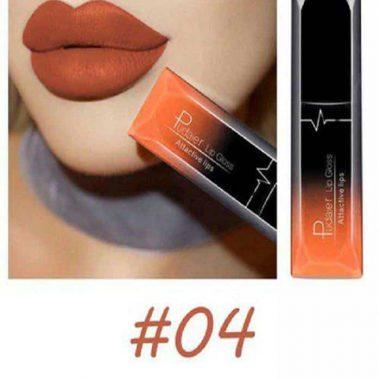 Pudaier Liquid Lip Gloss Lipstick #04
