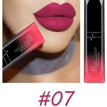 Pudaier Liquid Lip Gloss Lipstick #07