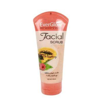 Everglow Papaya With Raspberry Facial Scrub