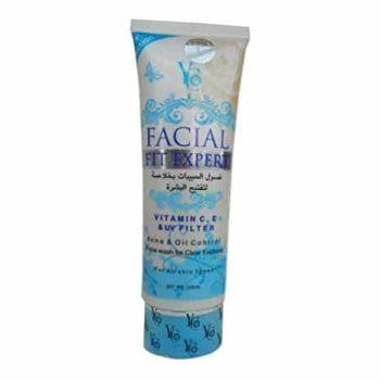 YC Facial Fit Expert Face Wash Blue