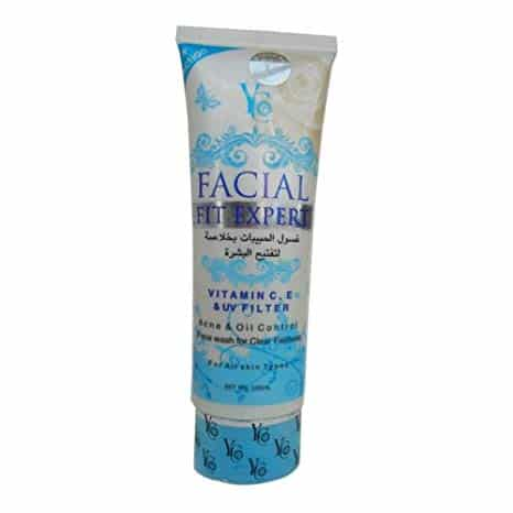 YC Facial Fit Expert Face Wash Blue