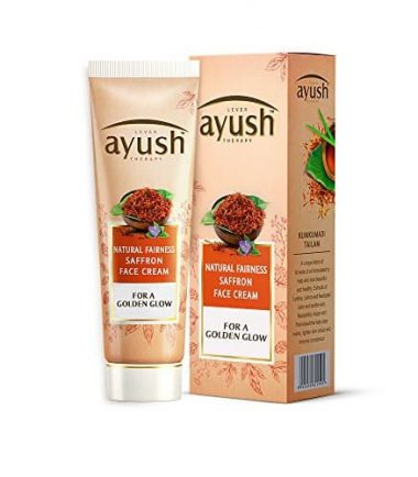 Lever Ayush Natural Fairness Saffron Face Cream