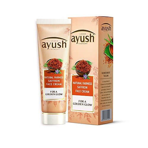 Lever Ayush Natural Fairness Saffron Face Cream