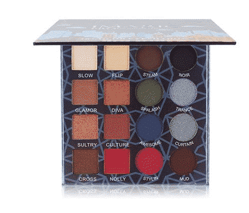 IMAGIC Professional 16 Shimmer Matte Eyeshadow Palette