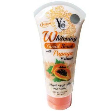 YC Whitening Facial Scrub With Papaya Extract