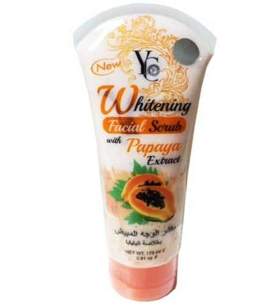 YC Whitening Facial Scrub With Papaya Extract