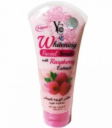YC Whitening Facial Scrub With Raspberry