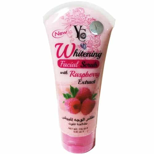 YC Whitening Facial Scrub With Raspberry