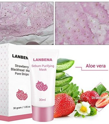 Lanbena Strawberry Blackhead Mask Pore Strips
