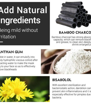 LANBENA Bamboo Charcoal Clay Mask