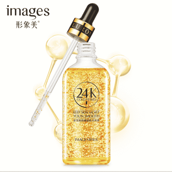 IMAGES 24K Gold Flakes Ampoule Serum
