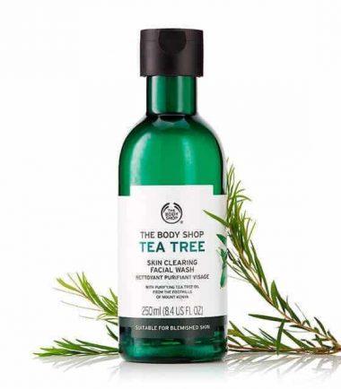 the body shop tea tree facial wash price in bd