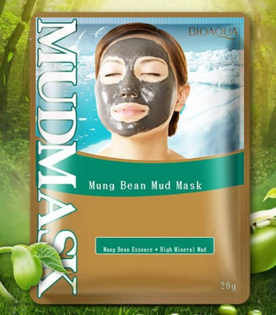 bioaqua mung bean mud mask