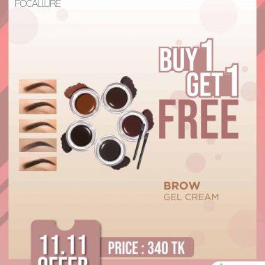 FOCALLURE Eyebrow Gel Cream Price In Bangladesh