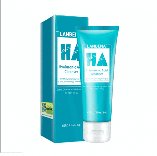 lanebna hyaluronic acid face wash