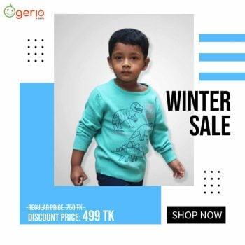 Winter Baby Sweater