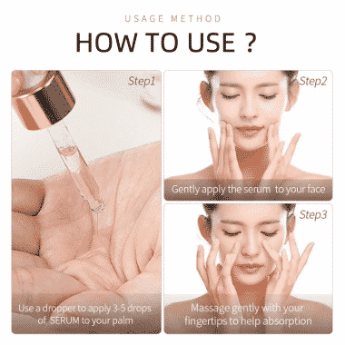 laikou sakura serum how to use