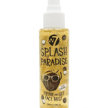 w7 splash of paradise prime and set face mist cute coconut