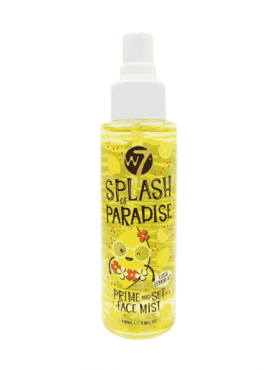 Splash Of Paradise Prime And Set Face Mist - Lush Lemon Ice