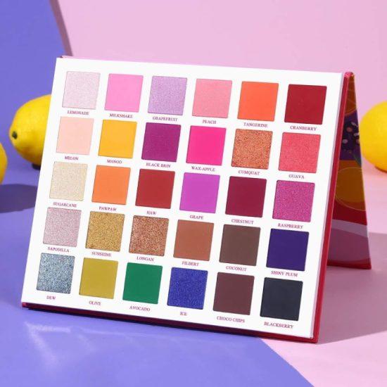 Ucanbe Fruit Pie Filling Eyeshadow Palette