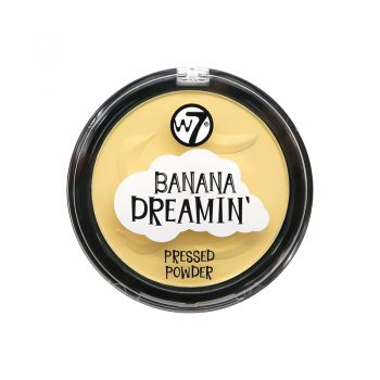 W7 Banana Dreamin Pressed Powder - 10gm