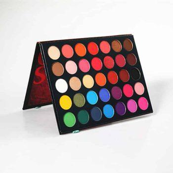 beauty glazed color studio eyeshadow palette