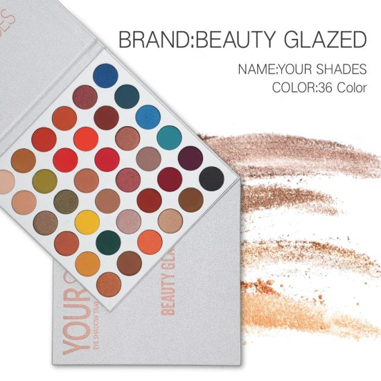 beauty glazed your shade eyeshadow palette