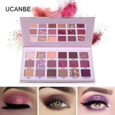 ucanbe aromas nudes eyeshadow palette